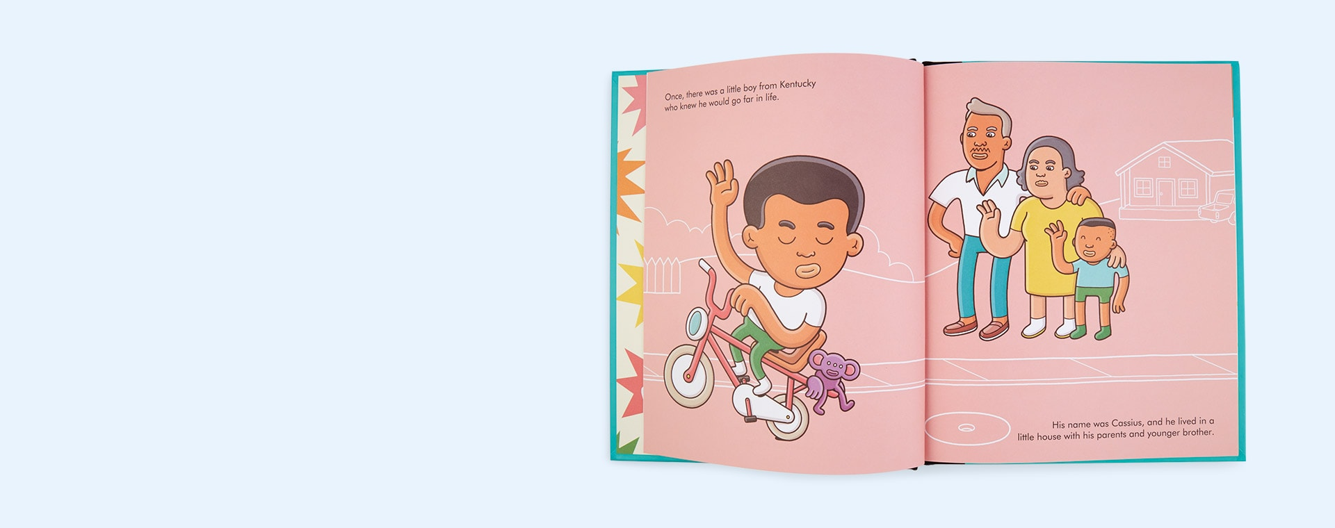 Green bookspeed Little People Big Dreams: Muhammad Ali