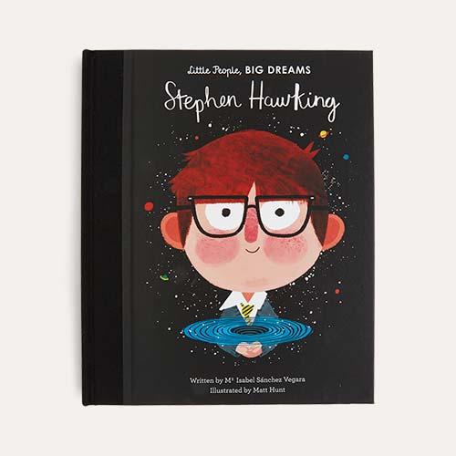 Black bookspeed Little People Big Dreams: Stephen Hawking