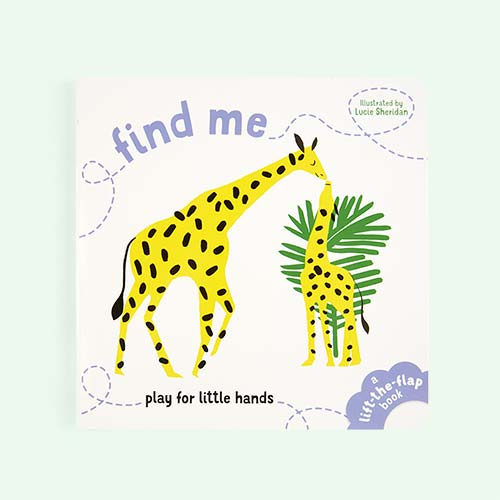 White bookspeed Find Me : Play for Little Hands