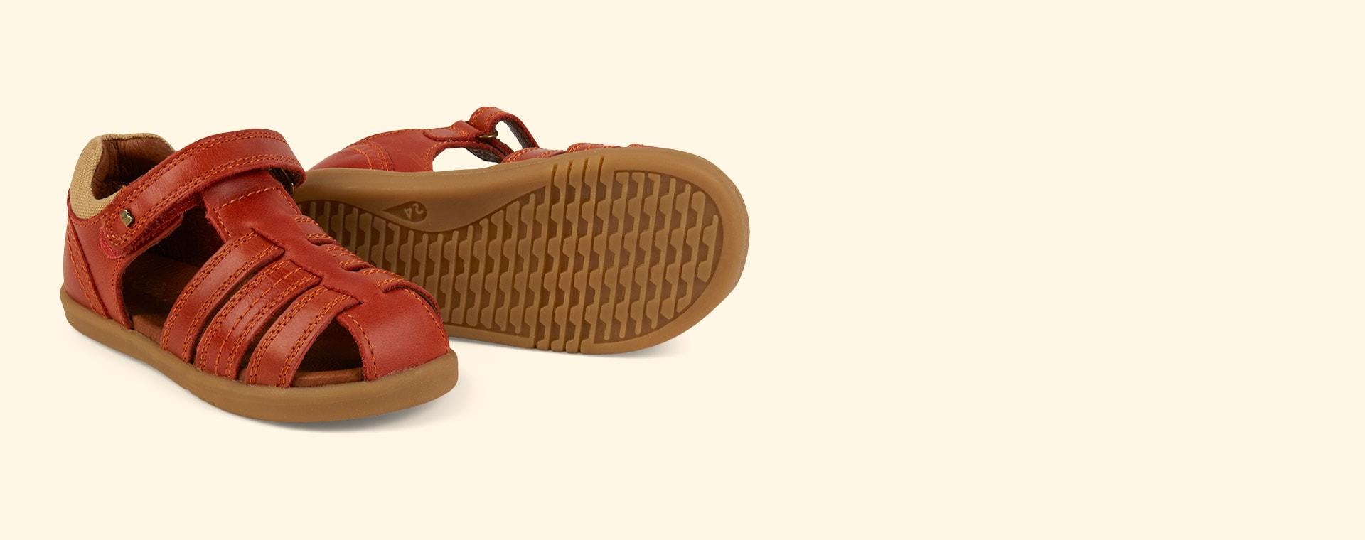 Paprika Bobux I-Walk Roam Closed Sandal