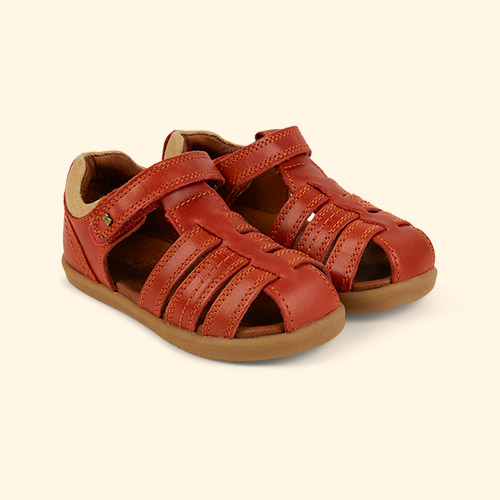 Paprika Bobux I-Walk Roam Closed Sandal