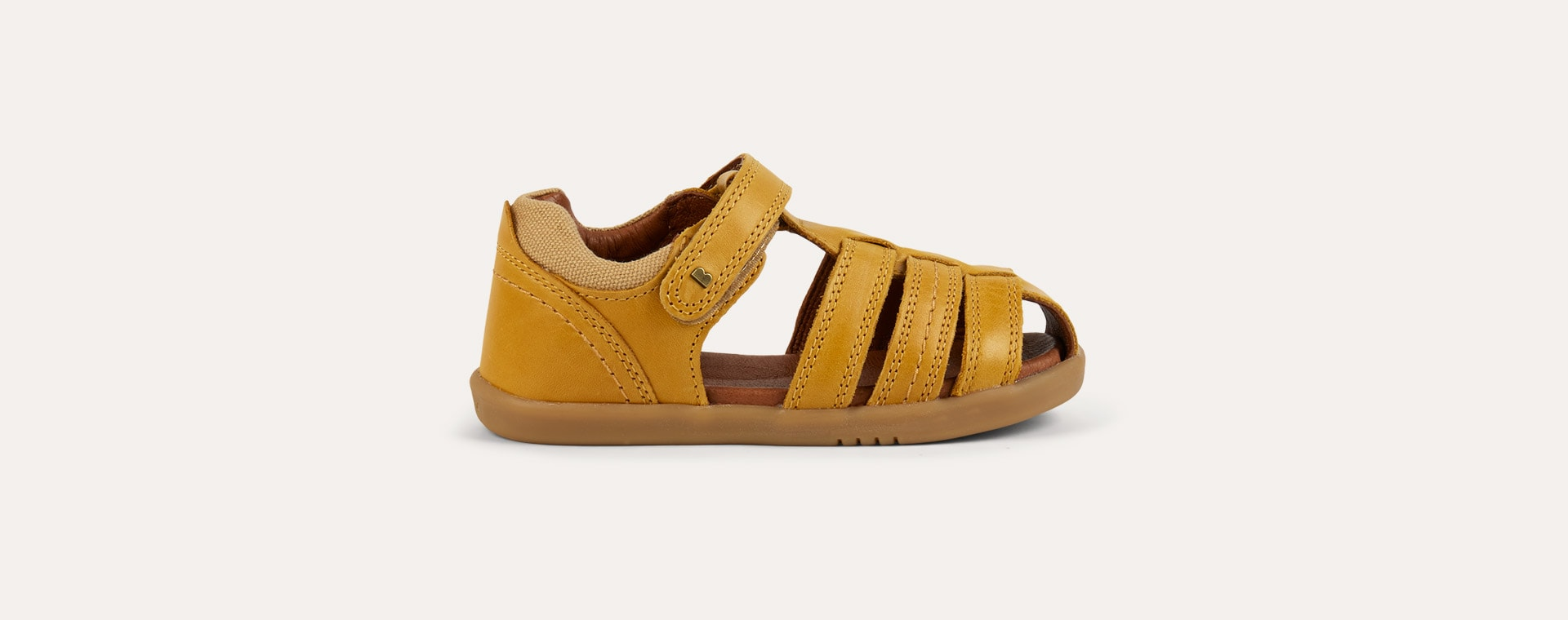 Chartreuse Bobux I-Walk Roam Closed Sandal