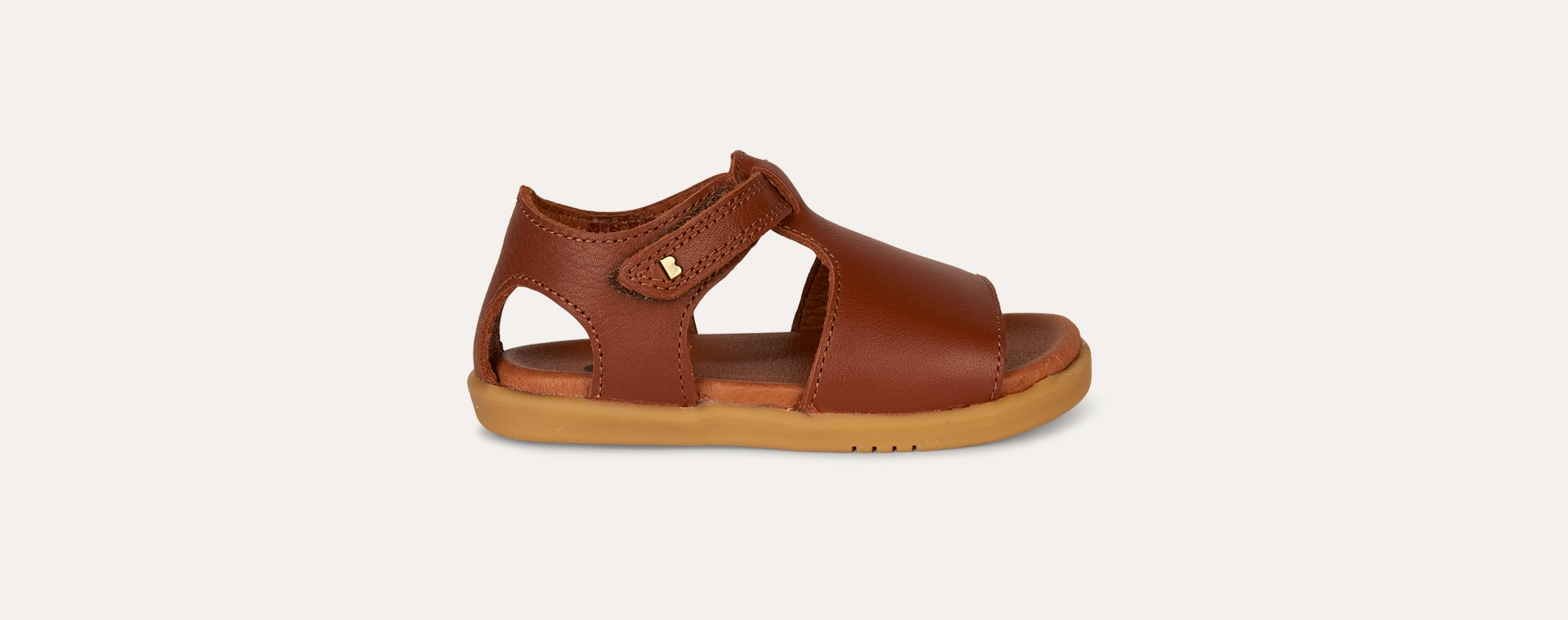 Chestnut Bobux I-Walk Mirror Open Sandal