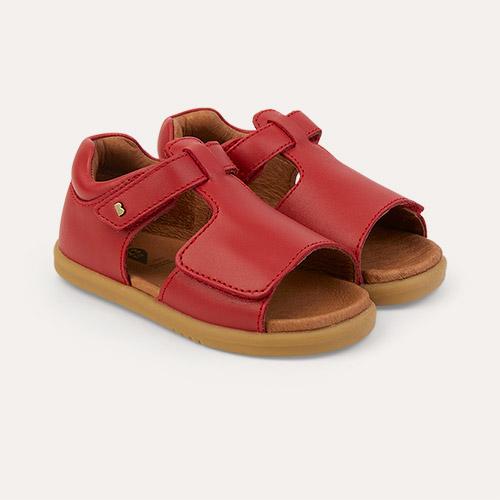 Red Bobux I-Walk Mirror Open Sandal