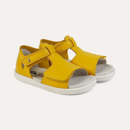 Yellow Bobux I-Walk Mirror Open Sandal