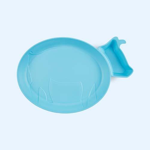 Blue jj rabbit Dip Plate