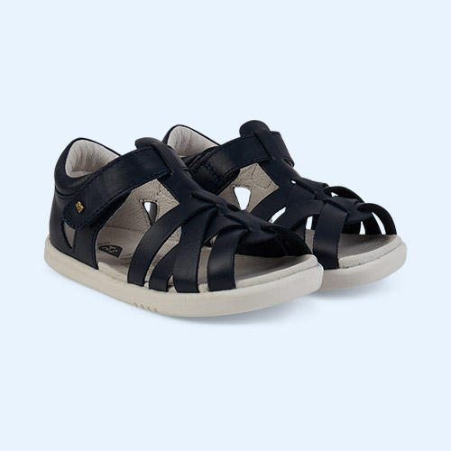 Navy Bobux I-Walk Tropicana Sandal