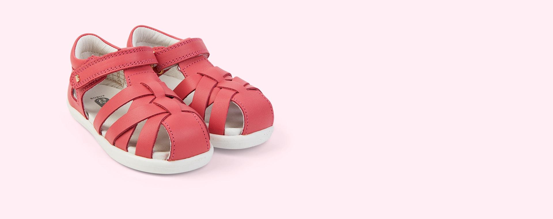 Guava Bobux I-Walk Tropicana Sandal