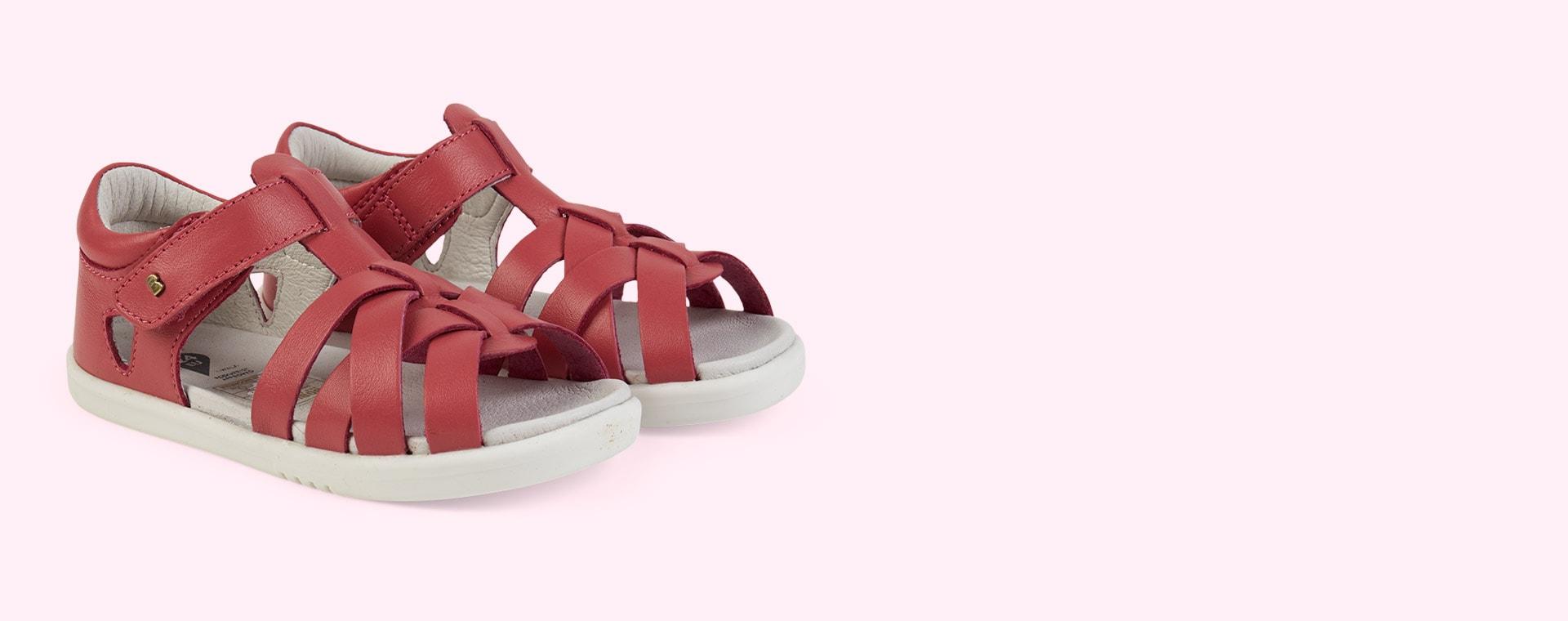 Strawberry Bobux I-Walk Tropicana Sandal