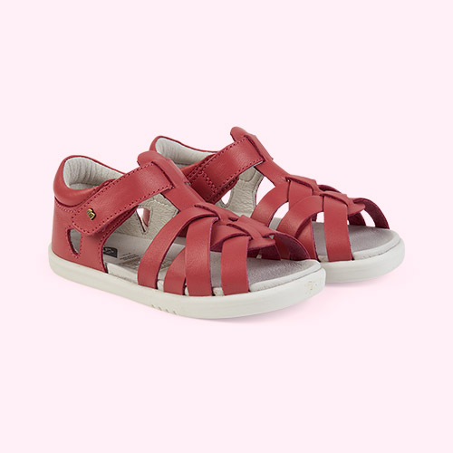 Strawberry Bobux I-Walk Tropicana Sandal