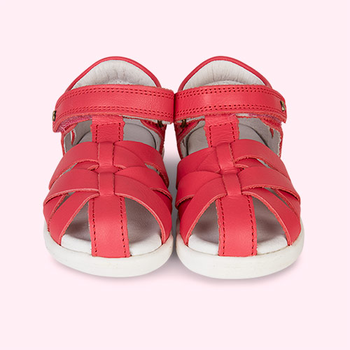 Watermelon Bobux I-Walk Tropicana Closed Sandal