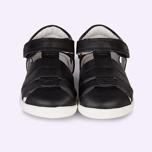 Black Bobux I-Walk Tidal Closed Sandal