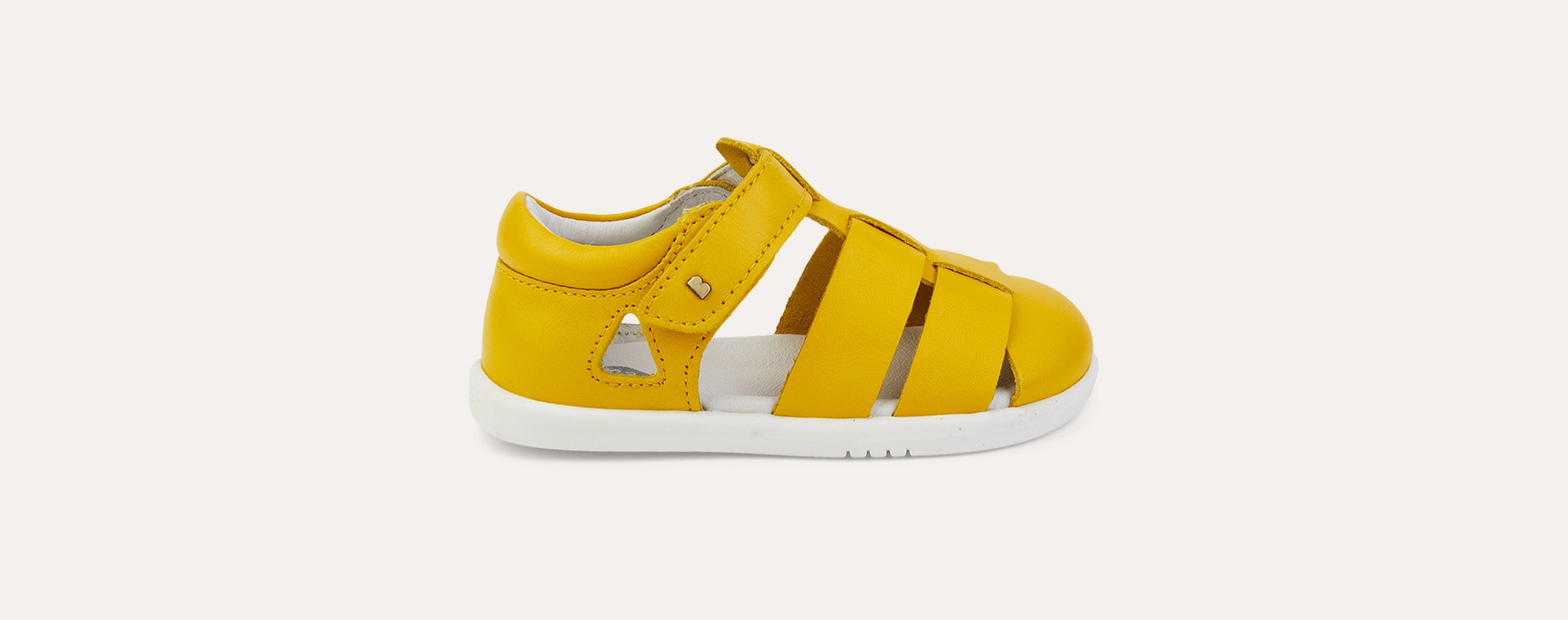 Yellow Bobux I-Walk Tidal Closed Sandal