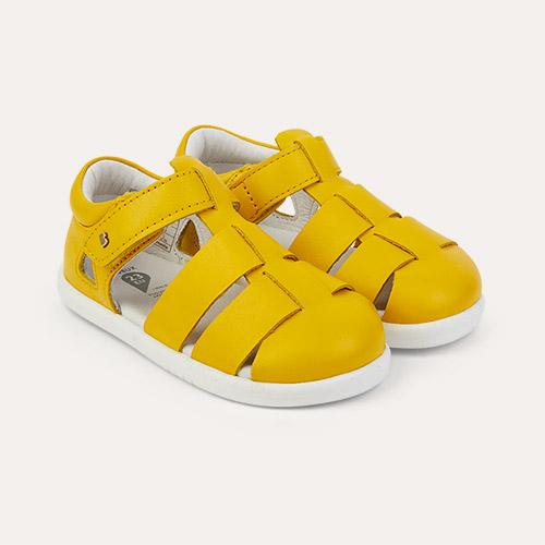 Yellow Bobux I-Walk Tidal Closed Sandal