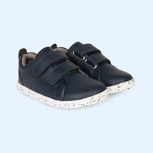 Navy Bobux I-Walk Grass Court Casual Shoe