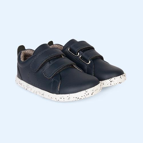 Navy Bobux I-Walk Grass Court Casual Shoe