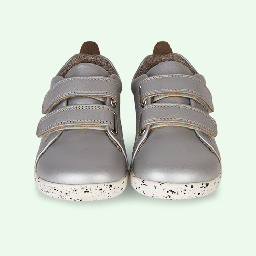 Silver Bobux I-Walk Grass Court Casual Shoe