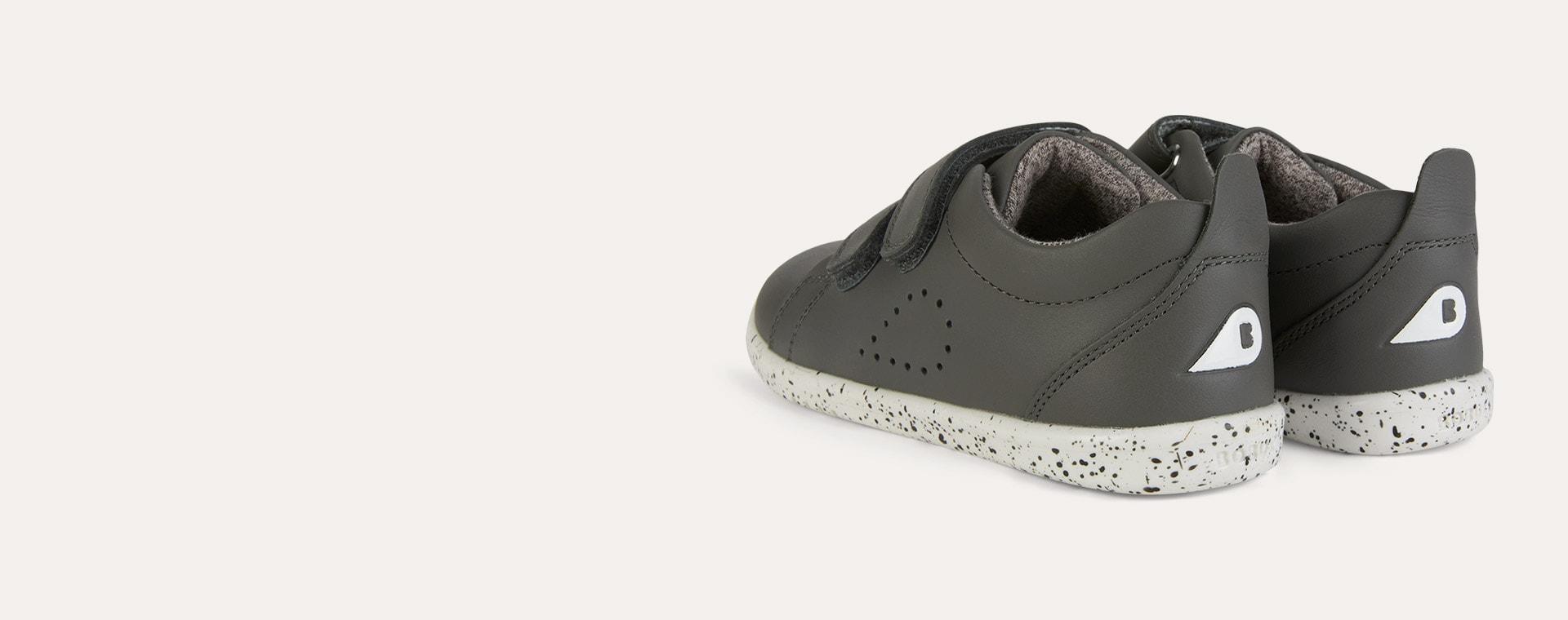 Smoke Bobux I-Walk Grass Court Casual Shoe