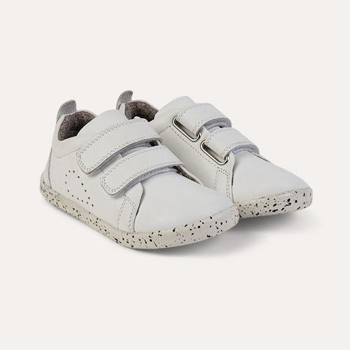 White Bobux I-Walk Grass Court Casual Shoe