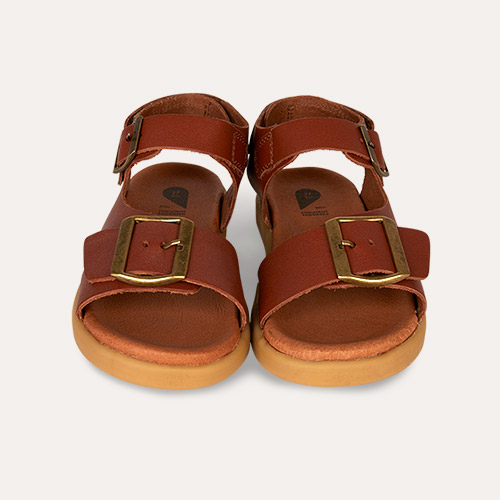 Chestnut Bobux Kid+ Soul Open Sandal
