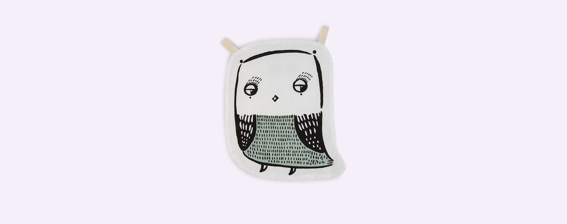 Owl Wee Gallery Organic Cotton Crinkle Toy