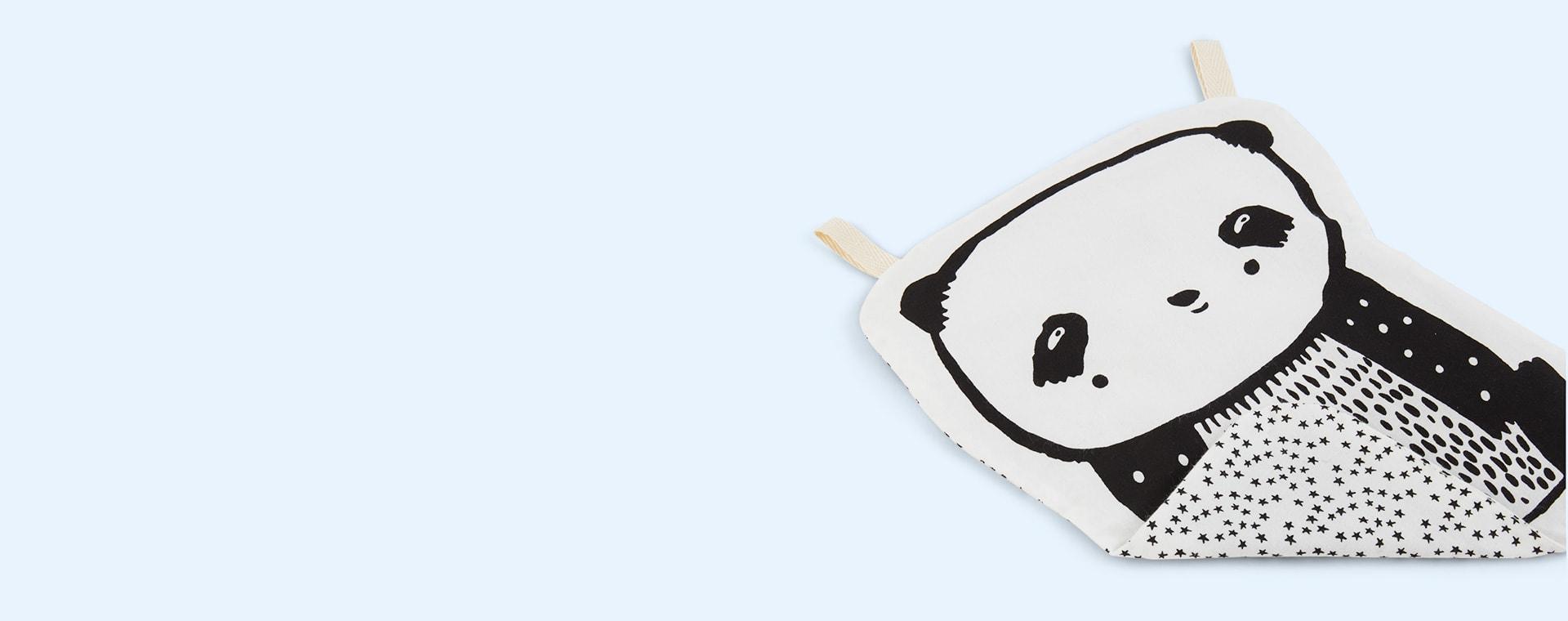 Panda Wee Gallery Organic Cotton Crinkle Toy
