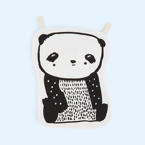 Panda Wee Gallery Organic Cotton Crinkle Toy