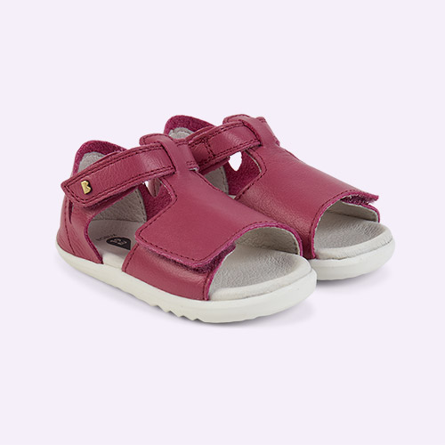 Raspberry Bobux Step Up Mirror Open Sandal