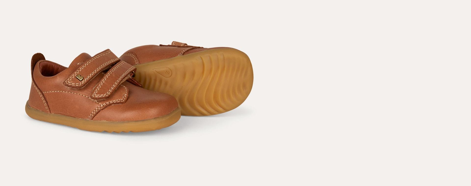 Caramel Bobux Step Up Port Dress Shoe