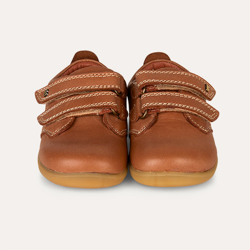 92a6de0819bee0 Bobux Step Up Port Dress Shoe Caramel