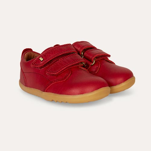 Rio Red Bobux Step Up Port Dress Shoe