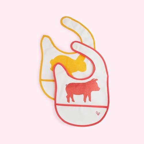 Warm jj rabbit Dry Bibs 2 Pack