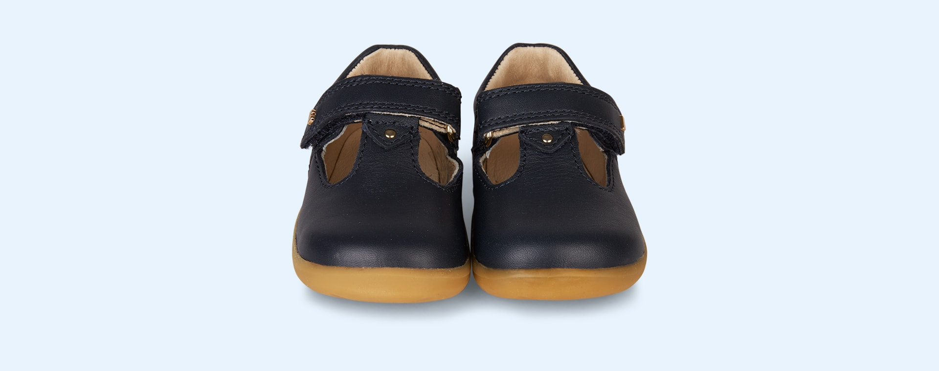 Navy Bobux Step Up Louise T-Bar