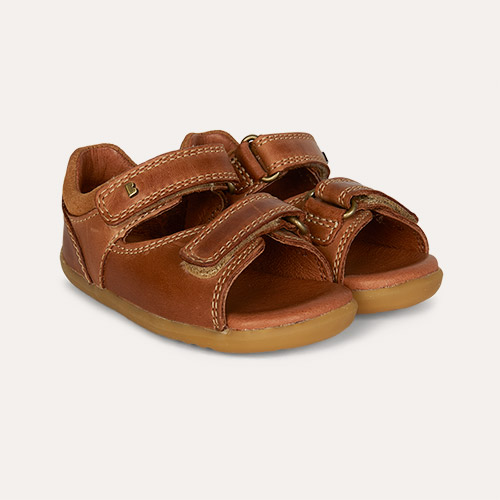 Caramel Bobux Step Up Driftwood Open Sandal