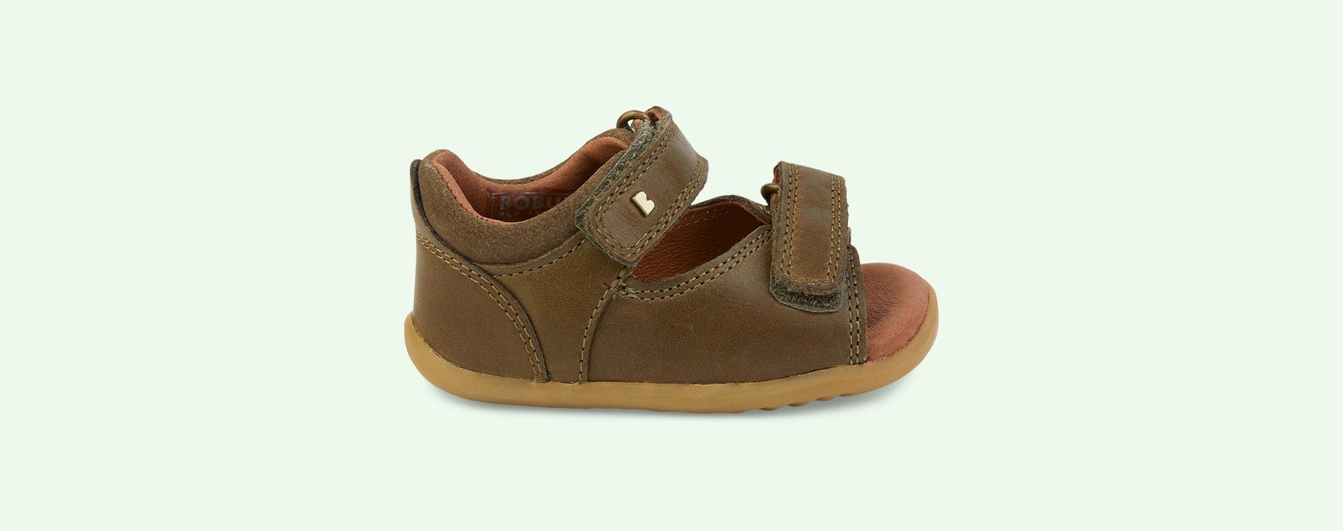 Olive Bobux Step Up Driftwood Open Sandal