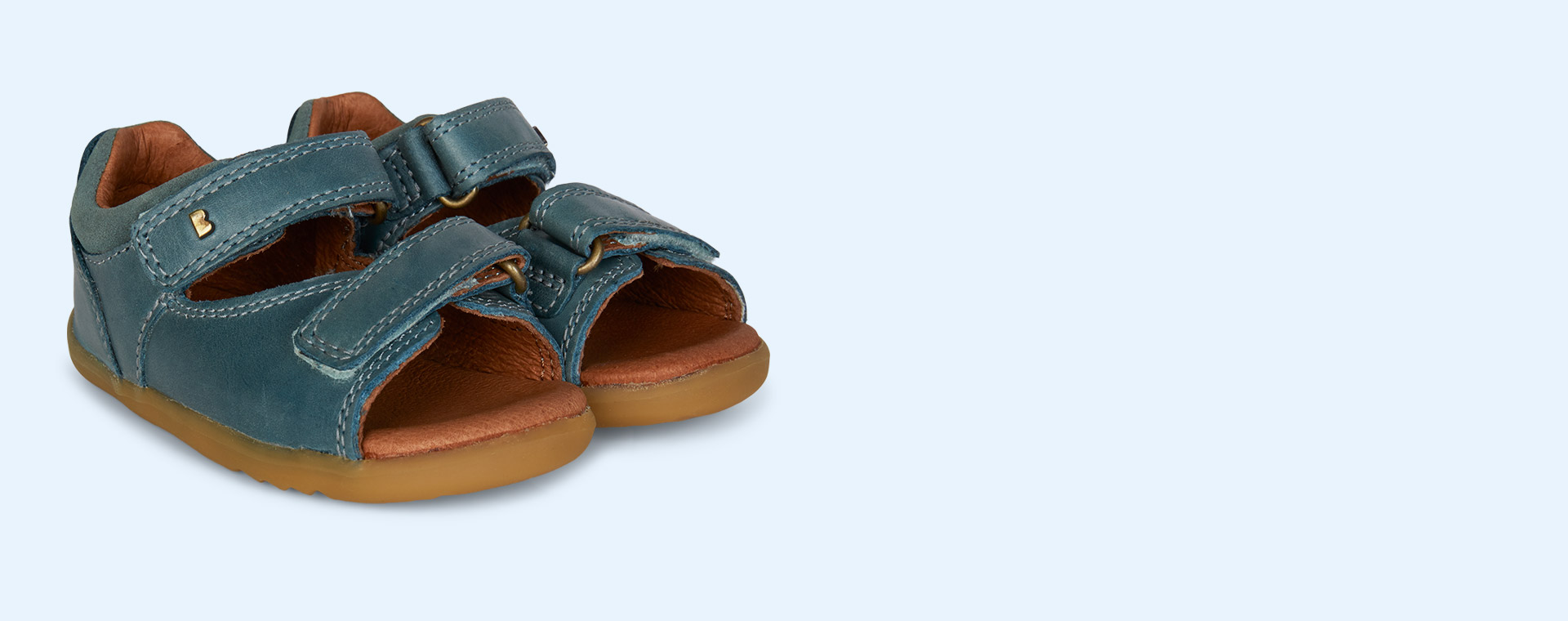Slate Bobux Step Up Driftwood Open Sandal
