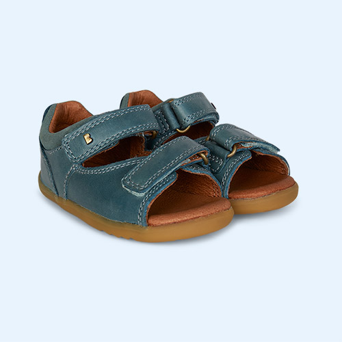 Slate Bobux Step Up Driftwood Open Sandal