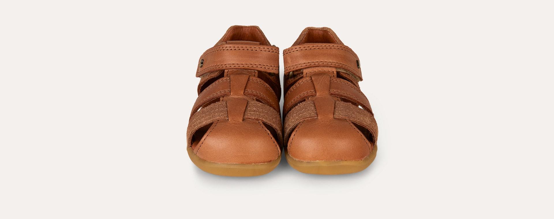 Caramel Bobux Step Up Roam Closed Sandal