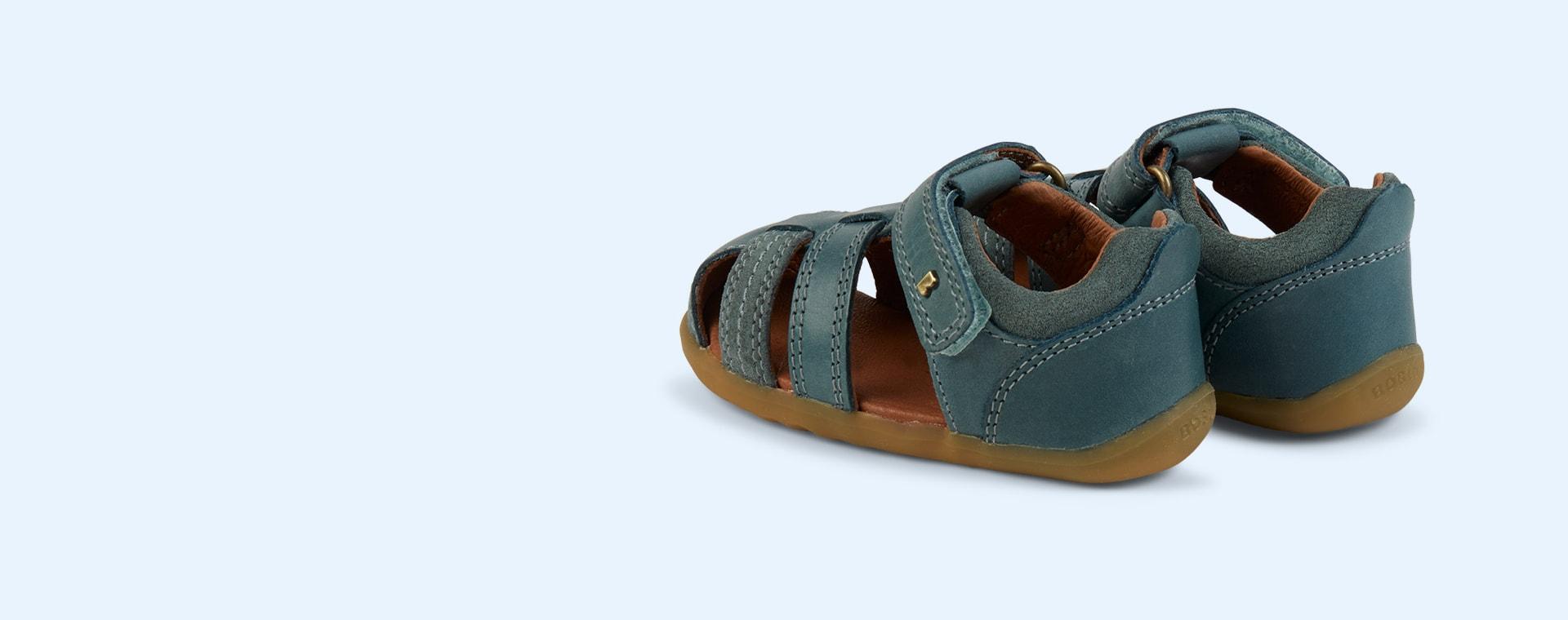 Slate Bobux Step Up Roam Closed Sandal