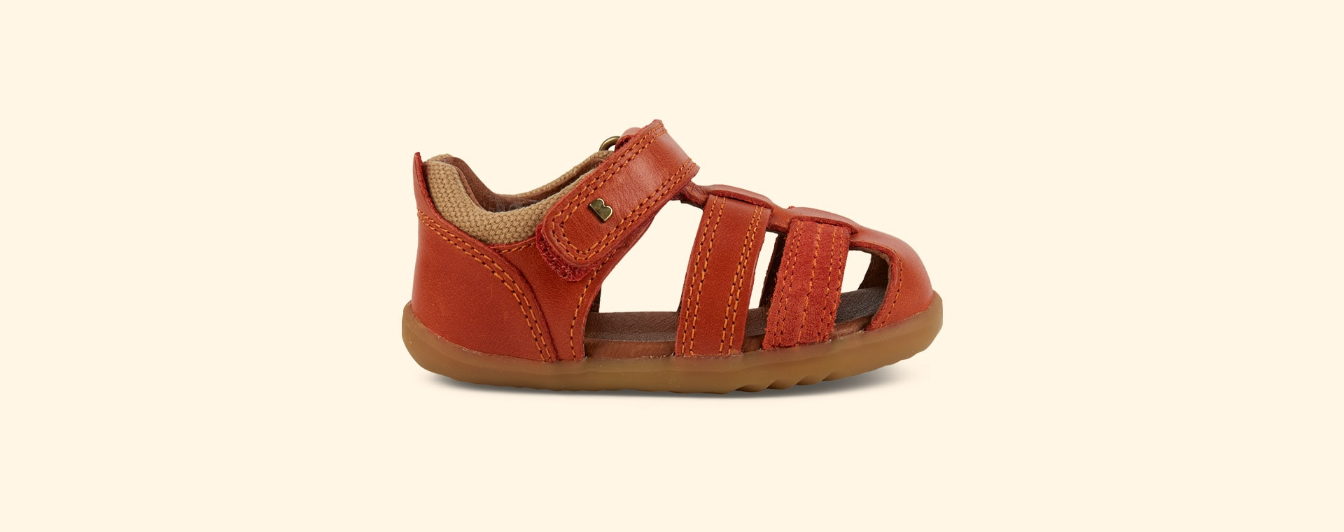 Paprika Bobux Step Up Roam Closed Sandal