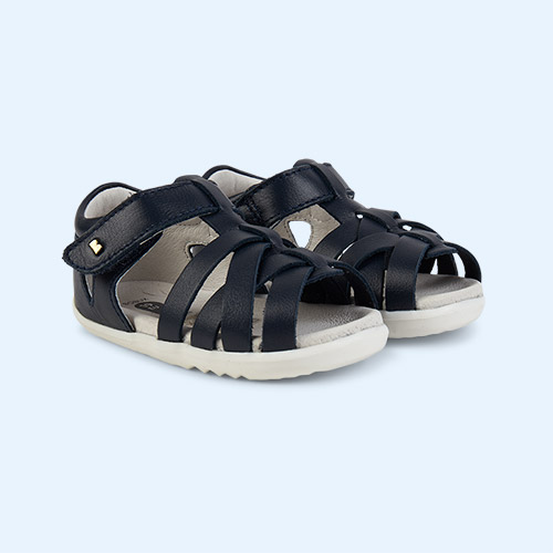 Navy Bobux Step Up Tropicana Sandal