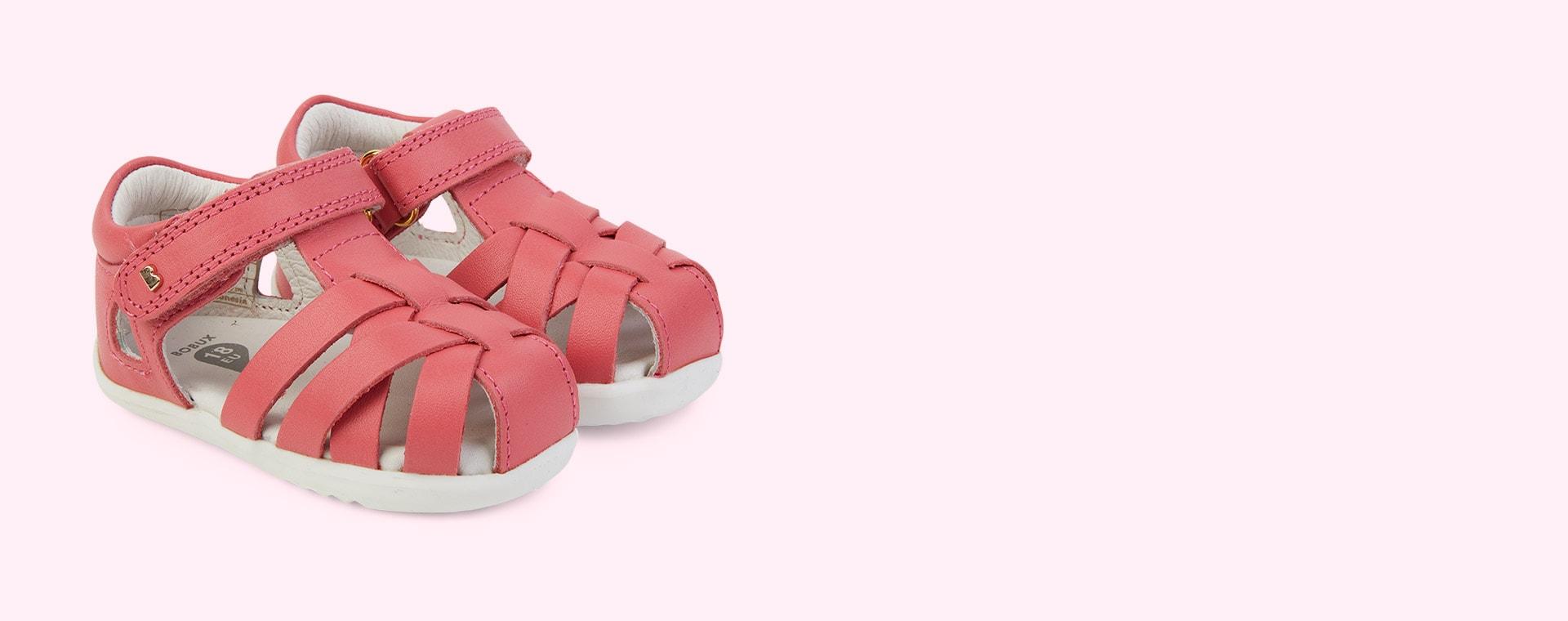 Guava Bobux Step Up Tropicana Sandal