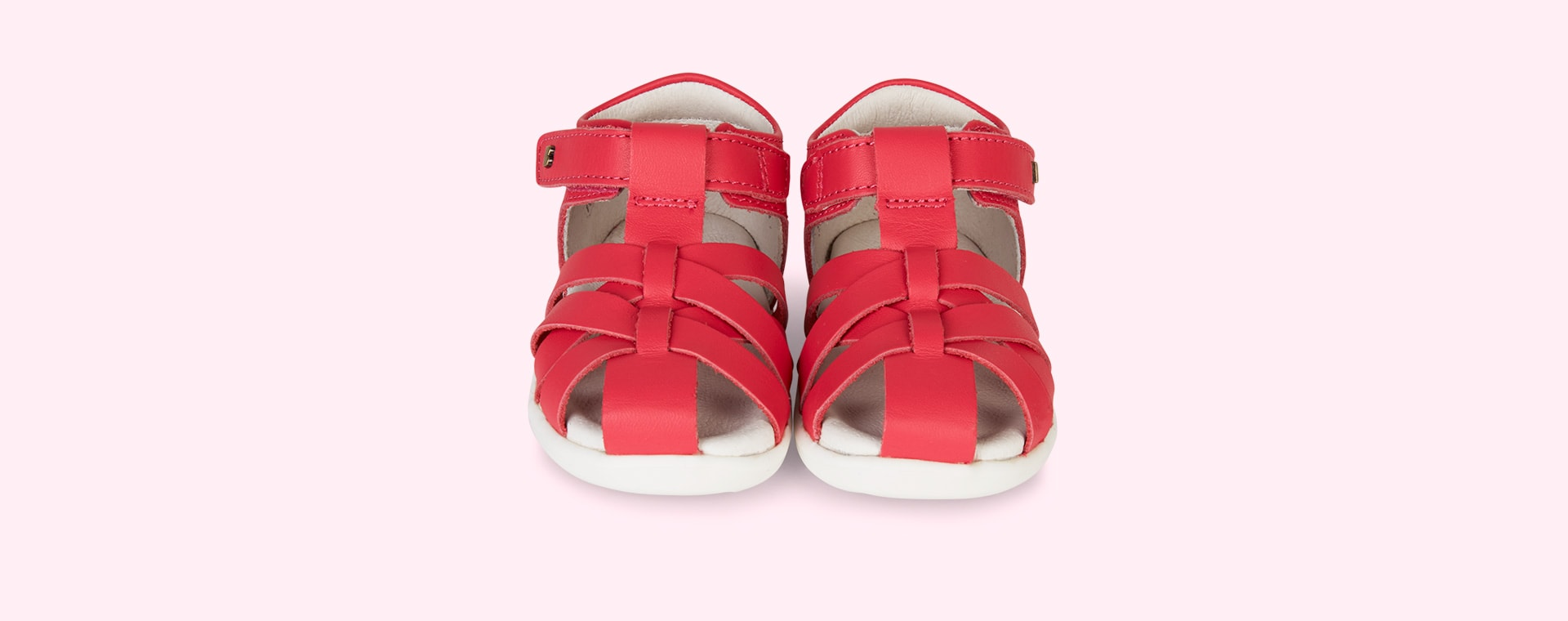 Watermelon Bobux Step Up Tropicana Closed Sandal