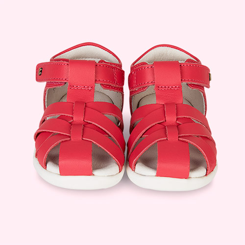 fe83ce167894 Bobux Step Up Tropicana Closed Sandal Watermelon