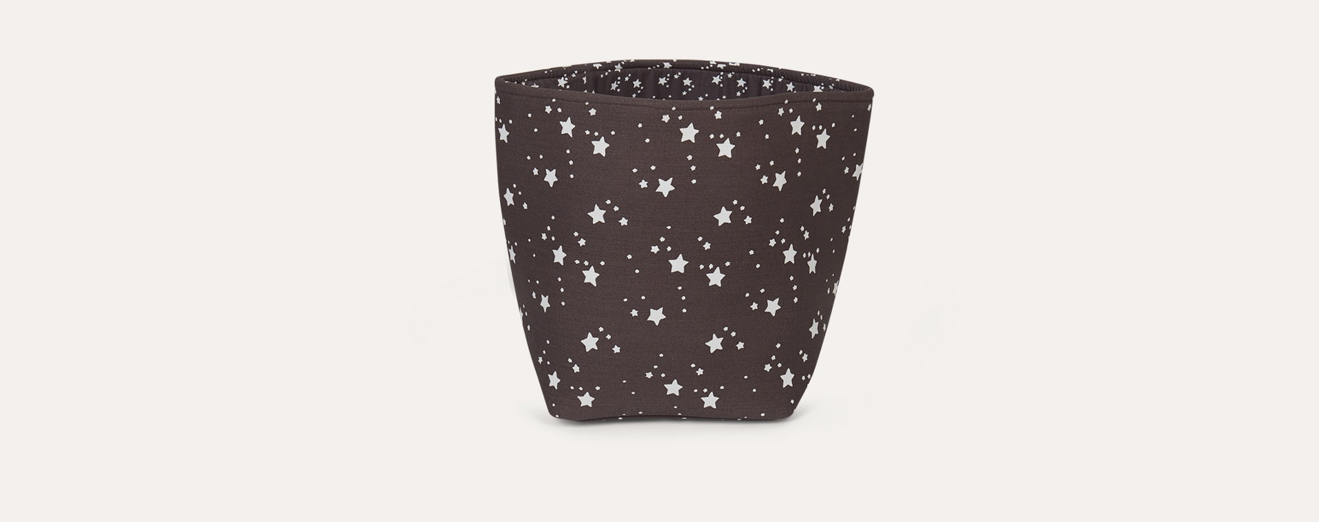 Grey Rose In April Medium Star Basket