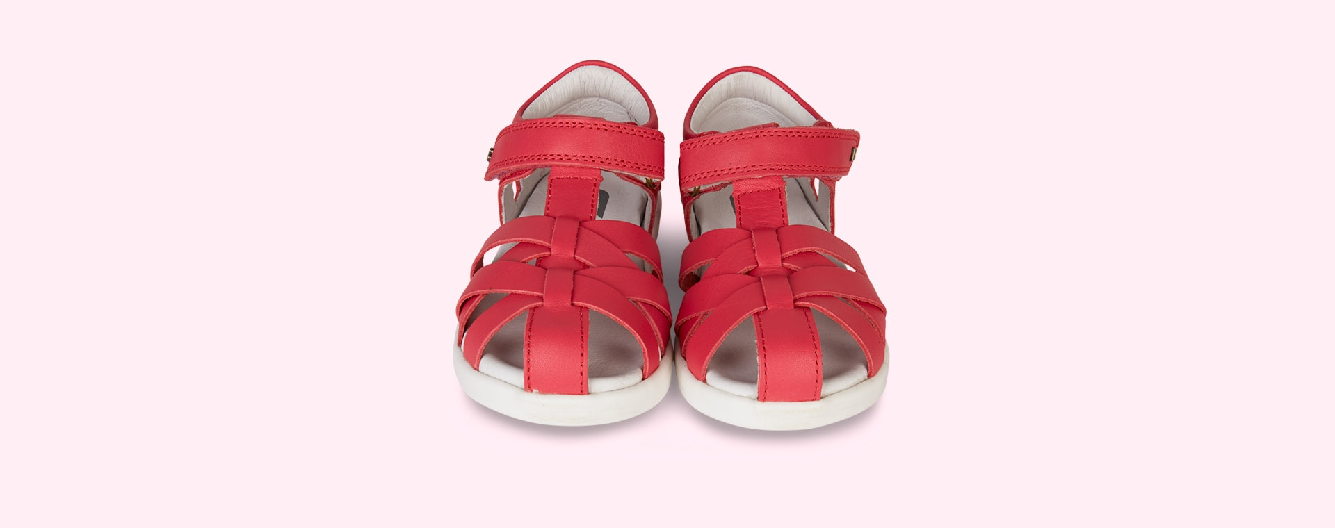 Watermelon Bobux Kid+ Tropicana Closed Sandal
