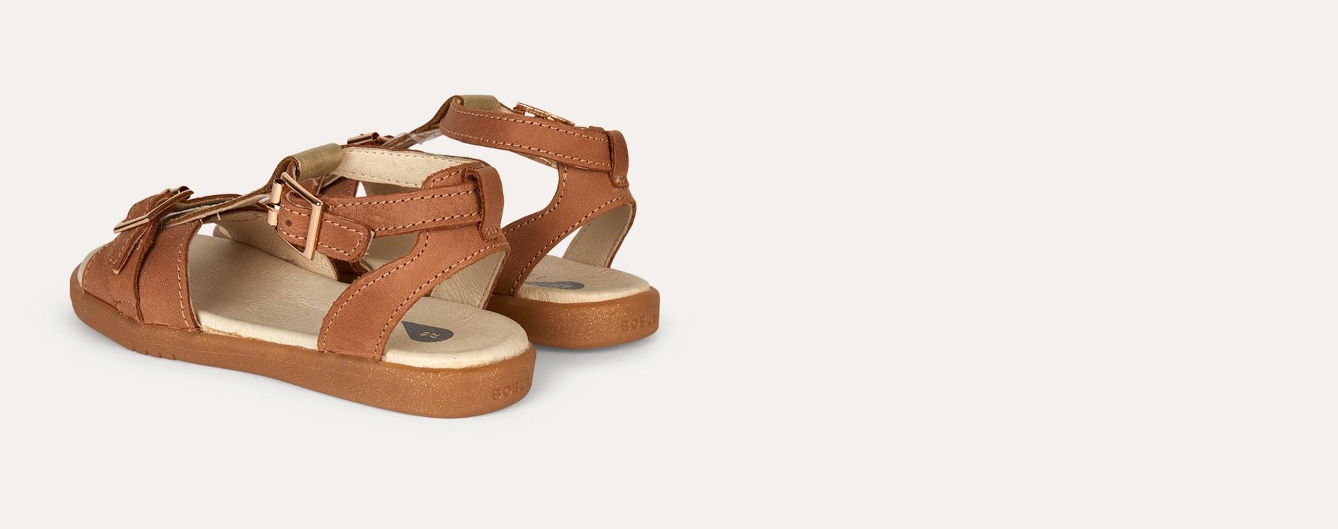 Caramel Bobux Kid+ Hera Open Sandal