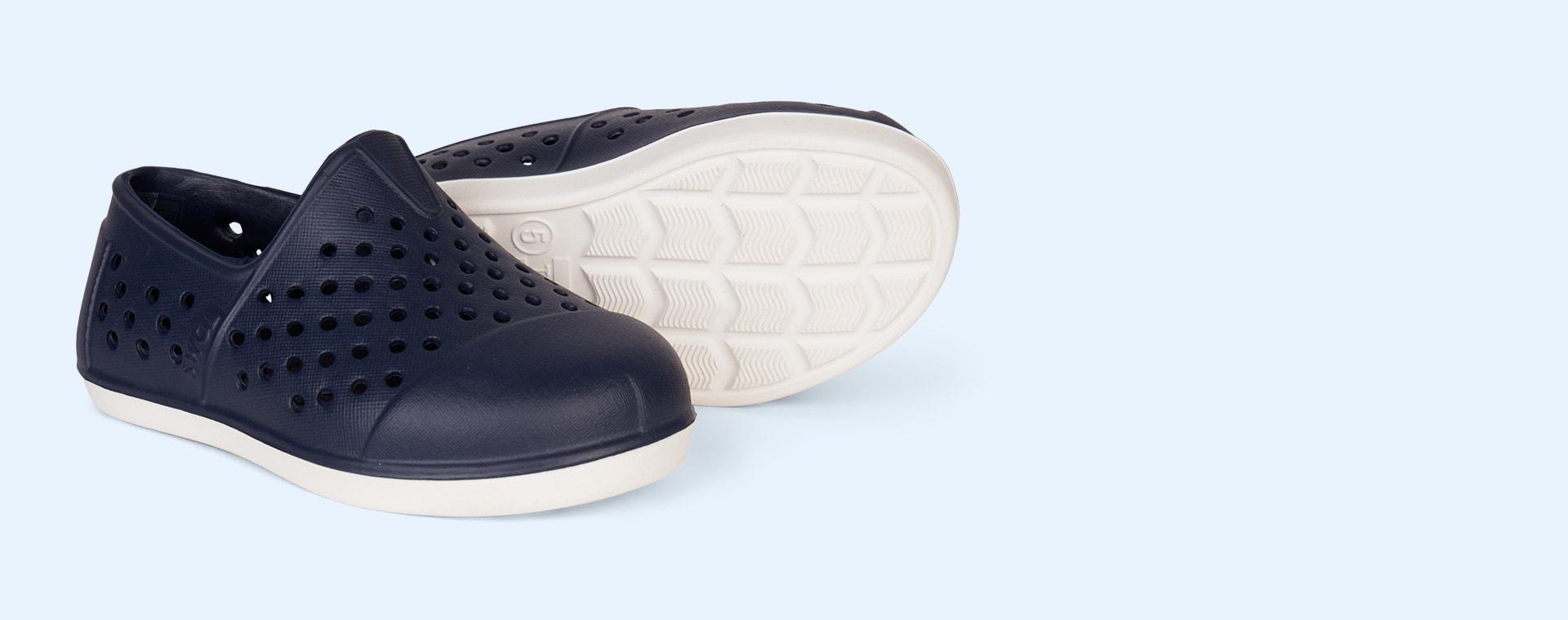Navy TOMS Romper Slip On Shoe