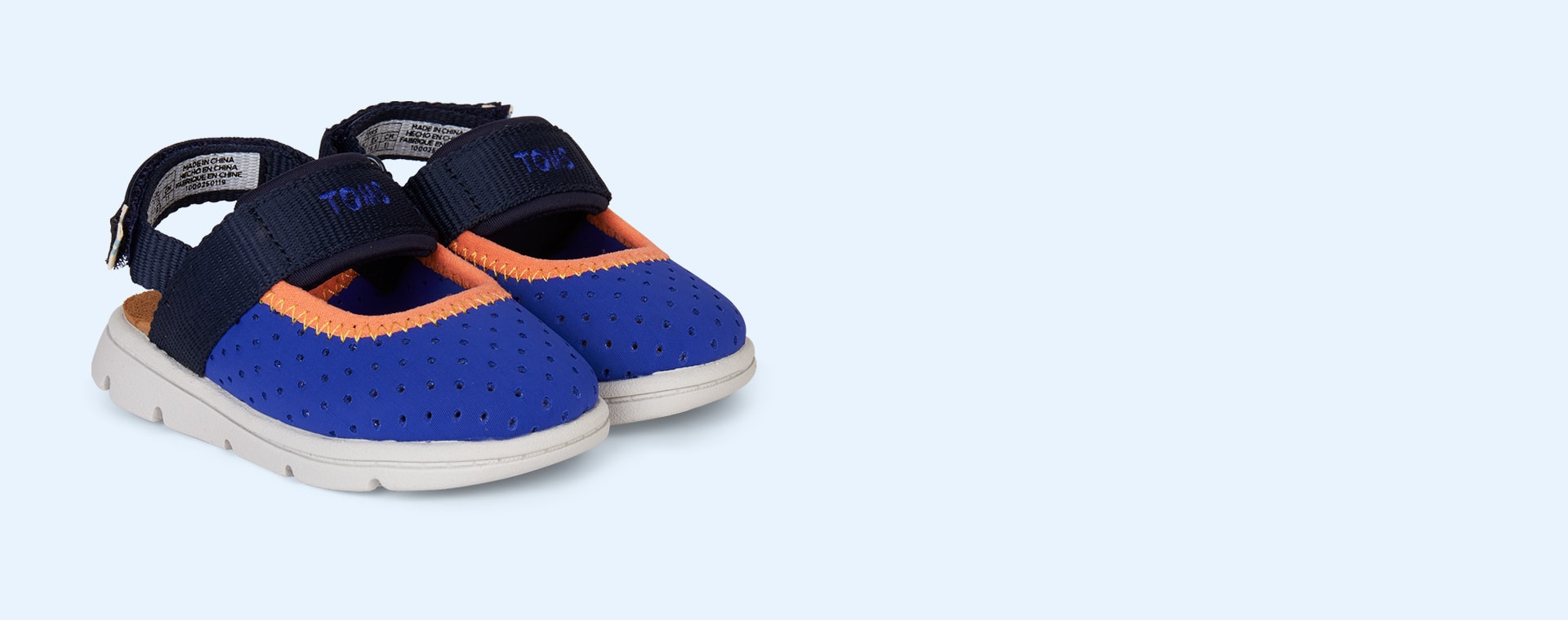 Navy TOMS Caity Water Sandal