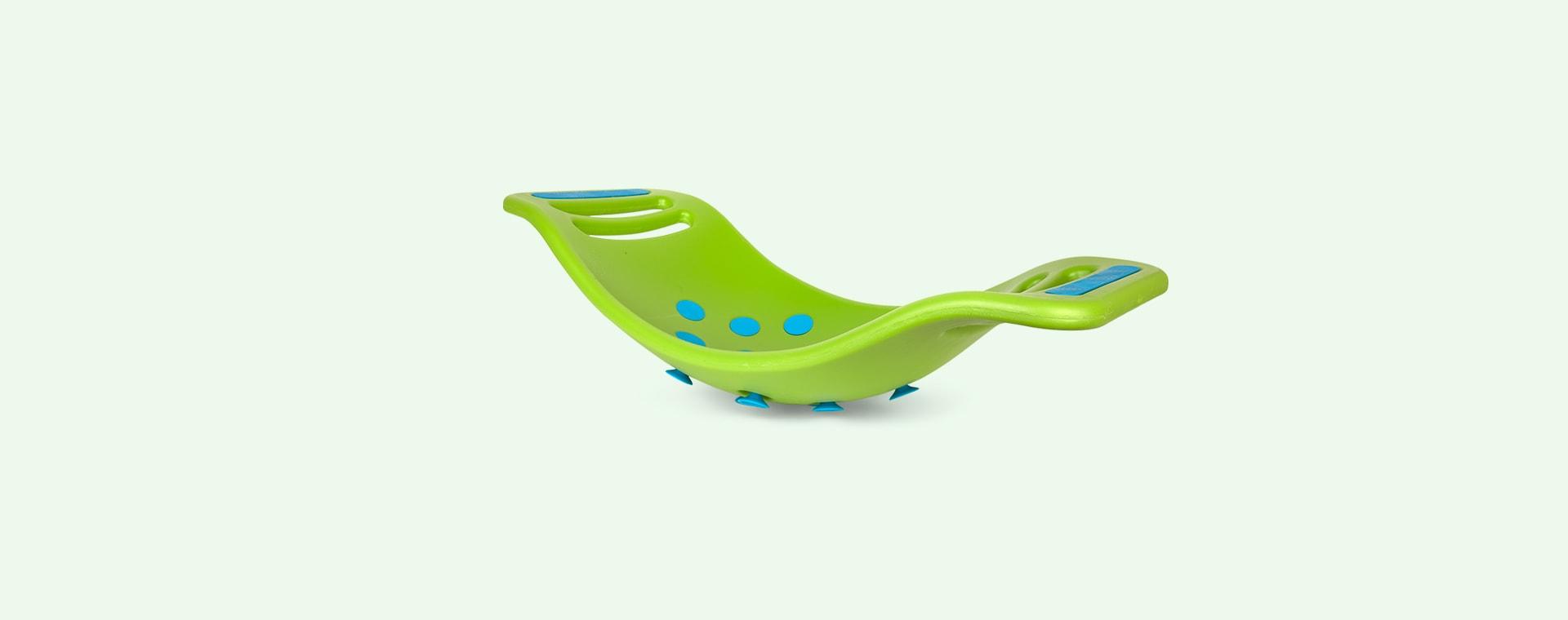 Green Fat Brain Toys Teeter Popper
